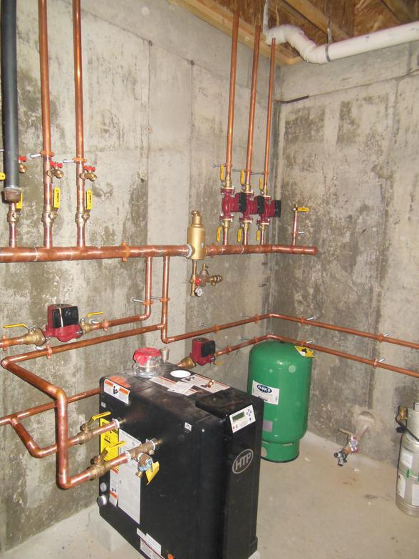 Furnace Boiler Piping Install